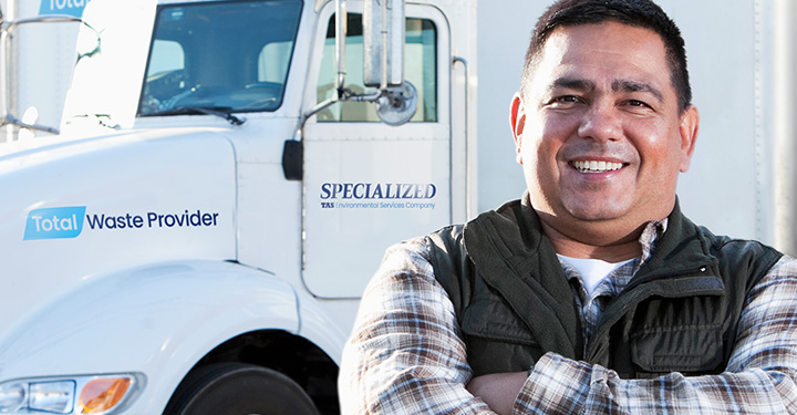 At Specialized Waste Systems, operators are highly trained in job safety and process efficiency, so every job goes smoothly.